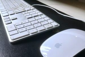 Apple toetsenbord en Magic Mouse draadloos